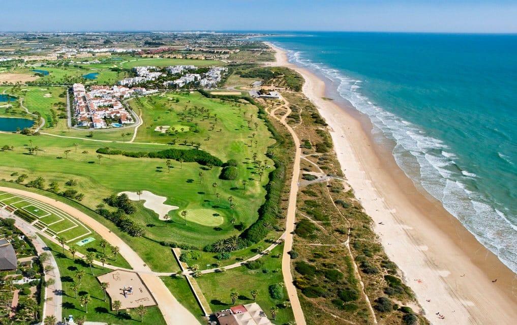 Costa Ballena Ocean Aerial