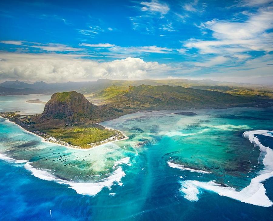 Mauritius-Aerial-View
